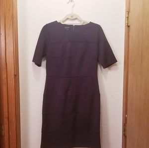 Ladies dark purple dress